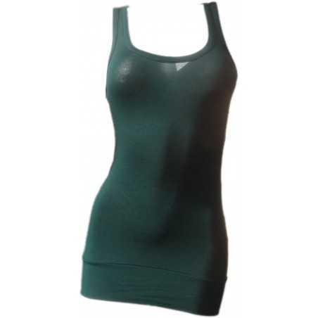 Débardeur Long femme Vert de chrome