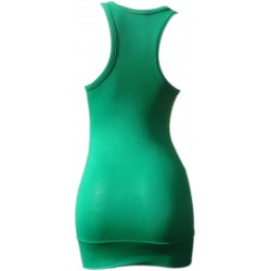 Débardeur Long femme Vert Bresil