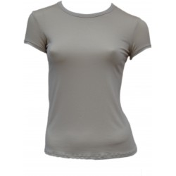 Tee Shirt Beige femme