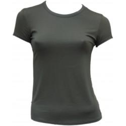 Tee Shirt Kaki femme