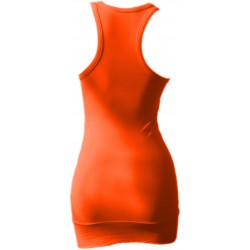Débardeur Long femme orange