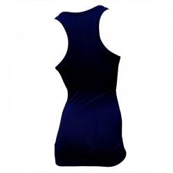Débardeur Long femme Bleu marine